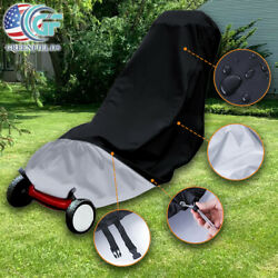 Waterproof Lawn Mower Cover Outdoor UV Protector Universal Fit for Push Mower US $17.99