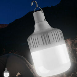 Camping Lantern LED Light Outdoor Emergency Lamp Hanging Rechargeable USB Port $17.99