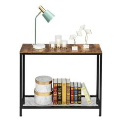 Modern Entryway Console Table Sofa Side Table w Shelf for Entryway Living Room $35.29