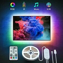 Govee TV Backlights RGB LED Lights for TV with Remote Music Sync