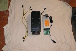 Antminer S3 with power supply breakoutboard and cables. Ready to go $190.00