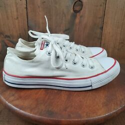 Converse All Star Women#x27;s Sneakers W7652 Ox White Size 9 US Low Top Shoe $19.99