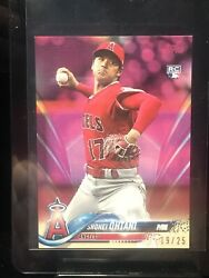 2018 topps update on demand #us1 shohei ohtani rc; MINI pink sp 25 really 12 $419.99
