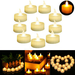 Flameless LED Candle Battery Operated Tea Lights Flickering Celebrate Family US $5.98
