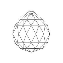 Box of 12 50mm Asfour CLEAR Crystal Ball #701 Prisms Chandelier Crystal Parts $66.78