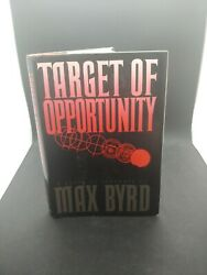 The Target of Opportunity by Max Byrd Hardcover 1988 1st Edition $2.99