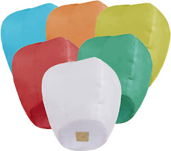 Chinese Lanterns 6 Pack Paper Lanterns for Valentine#x27;s Day Gifts Weddings Gift $12.77