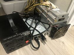Antminer L3 Scrypt Miner 504 MH s Litecoin Dogecoin With Power Supply LTC DOGE $1250.00