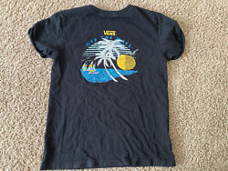Womens Vans Off The Wall T shirt Size Large $8.50