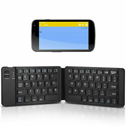 Portable Foldable Wireless Bluetooth 3.0 Keyboard Keypad for iOS Windows Android $17.98