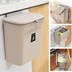 2.4 Gallon Kitchen Compost Bin for Counter Top or Under Sink Hanging Small Tras $30.92