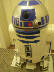 CLEAN NEVER USED VINTAGE CLASSIC R2D2 RARE FROM JAPAN LARGE BIN EXTRAS $845.00