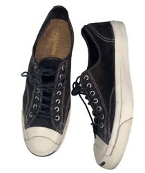 Converse Jack Purcell Black white Athletic Shoes sz mens 12 $55.00