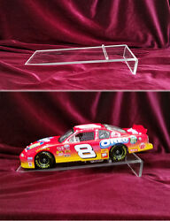 ACRYLIC DISPLAY RISER FOR 1 18 SCALE DIECASTS PACK OF 5 $29.99