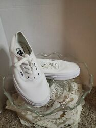 Womens Vans Off The Wall The Authentic Heritage Style Low Lace Up Canvas Size 7 $24.00