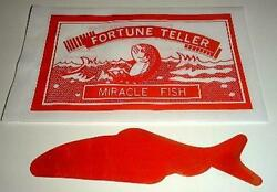 Fortune Telling Fish 24 of `em perfect novelty for kids of all ages TMGS $2.95