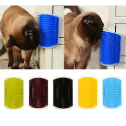 Pet Cats Self Groomer Pet Cats Hairs Grooming Corner Wall Brush For Cats $8.24