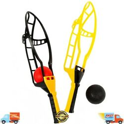 Trac Ball Classic Plastic Yellow Black with air action balls Jumbo Sized $15.97