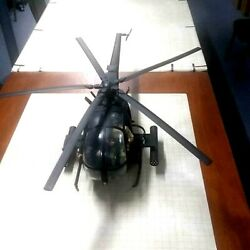 1 6 21st Century Toys Ultimate Soldier AH 6 Litttlebird Helicopter with Pilots $274.95