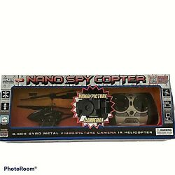 World Tech Toys Nano Spy 3.5ch RC Helicopter with Camera Plus Replacement Parts $19.95