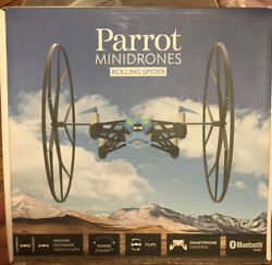Parrot Mini Drone Rolling Spider For Parts $35.00
