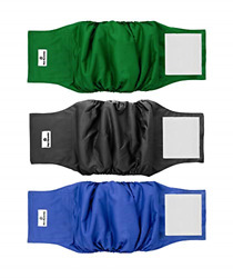 Pet Parents Premium Washable Dog Belly Bands 3pack of Male Dog Diapers Dog Male $25.84