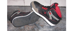 Champion High Tops Black Red Size 6 Y Boy#x27;s Ships Free $17.99