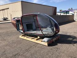 EUROCOPTER EC120 COLIBRI HELICOPTER FUSELAGE FOR STATIC DISPLAY USE $1750.00