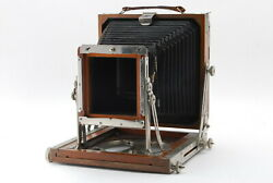 Exc Tachihara Hope 15.7 x 16.3 cm Wood Field Large Camera from JAPAN 1088 $399.99