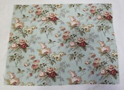 Waverly Fabric quot;Emma#x27;s Gardenquot; Rectangle Shaped Remnant $8.50