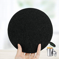 12pack FoodOMeter 6.7 Inch Charcoal Filters for Kitchen Compost Bin Pail Filters $18.08