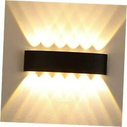 Outdoor Porch Wall Light 12W Led Wall Sconce Modern Exterior Lights 12w