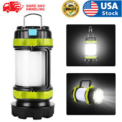 USA USB LED lantern rechargeable Light Camping Emergency Outdoor Hiking Lamps $15.98