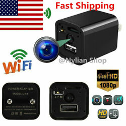 1080P FHD Mini WIFI USB Charger Security Camera Camcorder Hide DVR Loop Record $28.19