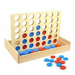 NEW Giant Connect 4 Large Outdoor Games Yard Big Huge Four Lawn Wooden Jumbo Gam $25.99