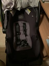 Evenflo Lite Max Car Seat Grey Read Description Pre Owned with base $75.00