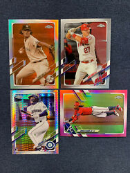 BUY 4 GET 3 🔥⚾ 2021 TOPPS CHROME #1 220 Inserts amp; Rookies You Pick 🔥⚾ $0.99
