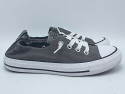 CONVERSE ALL STAR WOMENS GRAY SHORELINE LOW SNEAKERS SHOES 543202F SZ 7 $22.97