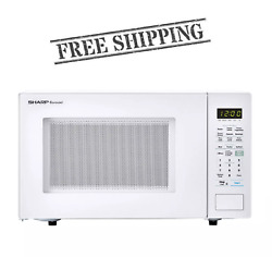 Sharp 1.4 cu. ft. Countertop White Microwave FREE SHIPPING $141.66
