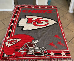 Kansas City Chiefs Tapestry Wall Hanging Cover Home Decor $24.00