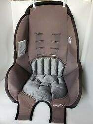 Evenflo Tribute Booster Seat Cover Fabric Replacement Padding Cushion Gray $15.00