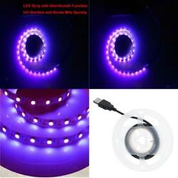 2835 Ultraviolet LED Strip Lights Bright Tape Lamp Indoor Disinfection Lamps $8.39