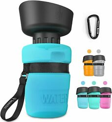 lesotc Pet Water Bottle for Dogs Dog Water Bottle Foldable Dog Travel Water $11.99