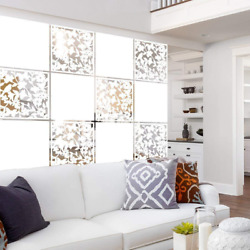 Lchen Hanging Room Divider Panel 12 Pieces White Screen Panels Solid Board Cut $54.66