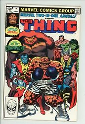 Marvel Two In One Annual 7 1st Champion High Grade 9.4 NM $39.99