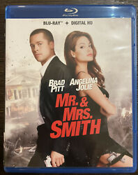 MR. AND MRS. SMITH NEW BLU RAY $4.00
