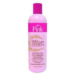 Luster#x27;s Pink Shea Butter Coconut Oil Co Wash Cleaning Conditioner 12oz $14.99