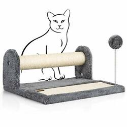 """PAWBEE Cat Scratching Post amp; Scratching Pad – 14.5"""" Cat Post amp; Scratching Board $72.99"""