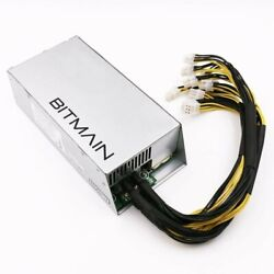 Antminer power supply apw3 w 10 Connectors 110V w upgraded HD power cord $125.00