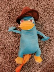 16quot; DISNEY STORE MC PERRY SECRET AGENT P PLUSH PERRY PLATYPUS Phineas And Ferb $12.40